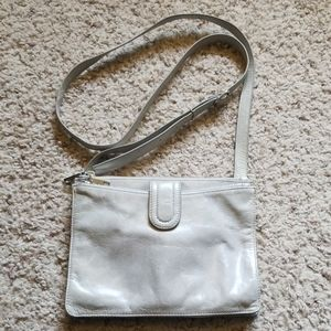 Hobo Grey crossbody purse